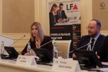 "Anna Grischenkova acted as a moderator during a conference ""International Arbitration in the Spotlight: from Tokyo to New York"""