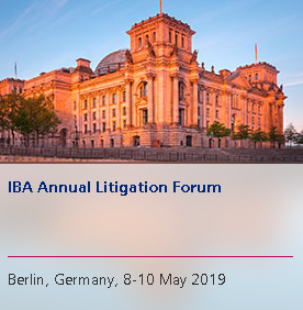 Anna Grishchenkova spoke at the Young Litigators' seminar within the framework of the IBA Annual Litigation Forum 2019 in Berlin