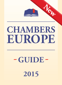 Four Practice Areas and Six Partners of KIAP, Attorneys at Law, are recommended by  International Ranking Chambers Europe 2015
