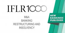 KIAP is recommended by the international rating IFLR1000