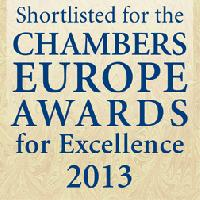 Korelskiy, Ischuk, Astafiev and Partners Shortlisted for Chambers Europe Awards for Excellence 2013