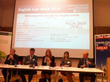 KIAP Partner Anna Grishchenkova moderates English Law Week 2015 in Moscow