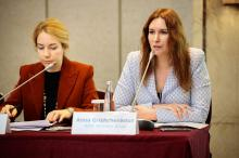 "Anna Grishchenkova moderated the session at the Conference on International Arbitration ""Russia as a place for dispute resolution"""