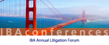 KIAP Partner Anna Grishchenkova attended IBA Annual Litigation Forum