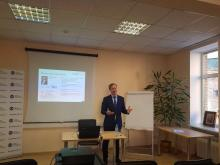 Andrey Zuykov held a master class at the Chamber of Tax Advisors