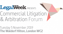 "Anna Grishchenkova spoke at the ""Commercial Litigation & Arbitration Forum – 2019"" in London"