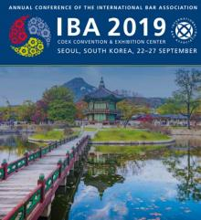 Anna Grishchenkova will speak at the IBA Annual Conference 2019 in Seoul