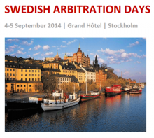 Senior Associate Irina Suspitcyna attends Swedish Arbitration Days 2014