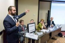 KIAP Partner Mikhail Uspenskiy acted as co-moderator of session of IBA Law Firm Management Conference