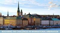 Konstantin Astafiev attended International Conference «Mastering the Challenges in International Arbitration» in Stockholm