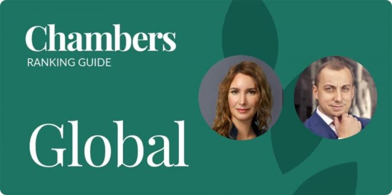 Partners of Litigation practice Andrey Korelskiy and Anna Grishchenkova among the leaders of Chambers Global 2020