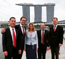 "Anna Grischenkova took part in the ANO ""ISA"" Arbitration center delegation to Singapore"