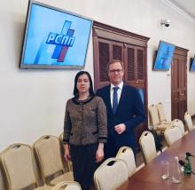 Partners Elena Buranova and Andrey Zuykov participated in the meeting of the RSPP Committee on Intellectual property