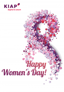 Happy Women's Day from KIAP Digital & Smart!