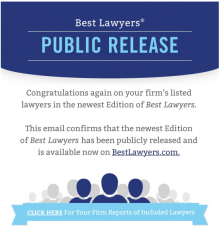 Best Lawyers 2015 International Rating recommends five KIAP partners in five practice areas